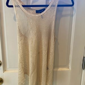 Isabel Marant cream colored knit tank top